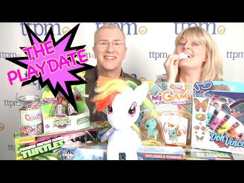 Teenage Mutant Ninja Turtles, Bubble Toys, Hello Kitty and more.  The Playdate