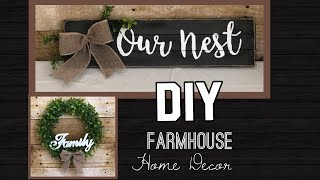 DIY Farmhouse Home Decor