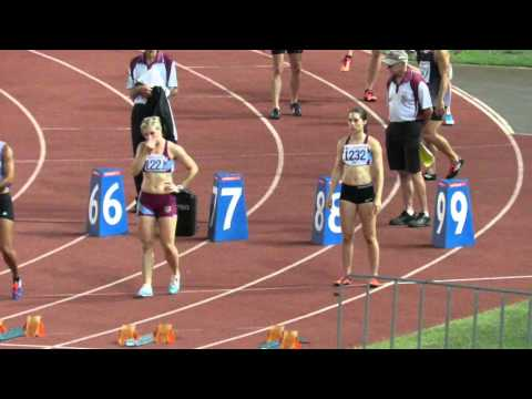 100M Final Toea Wisil 11.67 +0.9  2016 Queensland Athletic Championships