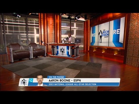 ESPN MLB Analyst Aaron Boone Dials IN to The RE Show - 3/29/17