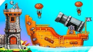 СЕКРЕТНАЯ ПУШКА ПИРАТОВ  Катапульта Атака пиратов The Catapultclash With Pirates Игры для андроид