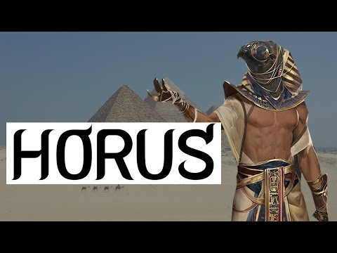 Horus - Who Was Horus? - What Is The Eye Of Horus? | Egyptian Mythology