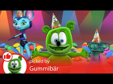 YouTube Kids App Happy Birthday Party Songs Playlist Intro Gummibär The Gummy Bear