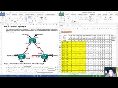 Appendix - 9.1.4.9 Lab - Subnetting Network Topologies