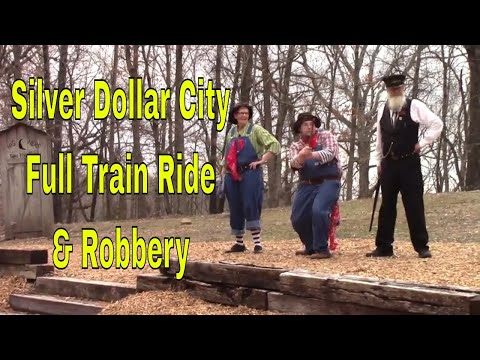 Silver Dollar City Train Ride and Robbery- The Bolins Attempt on March 16, 2018