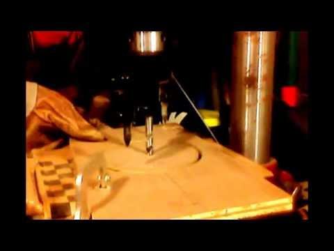 Wood circular cutter / adjustable