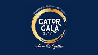 """""""All in this together!"""" - Gator Gala 2021"""
