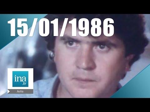20h Antenne 2 du 15 janvier 1986 : Mort de Daniel Balavoine et Thierry Sabine  Archive INA