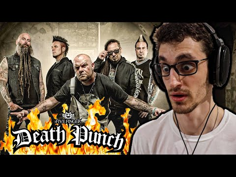 "My Favorite FFDP Song Yet!!! | FIVE FINGER DEATH PUNCH – ""Under and Over It"" (REACTION!!)"