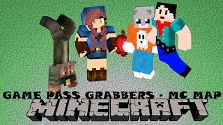 Minecraft Map: Game Pass Grabbers!!