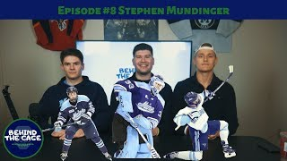 Tallest Goalie in the NCAA, Stephen Mundinger, Didn't Start Playing Hockey Until 17 Years Old