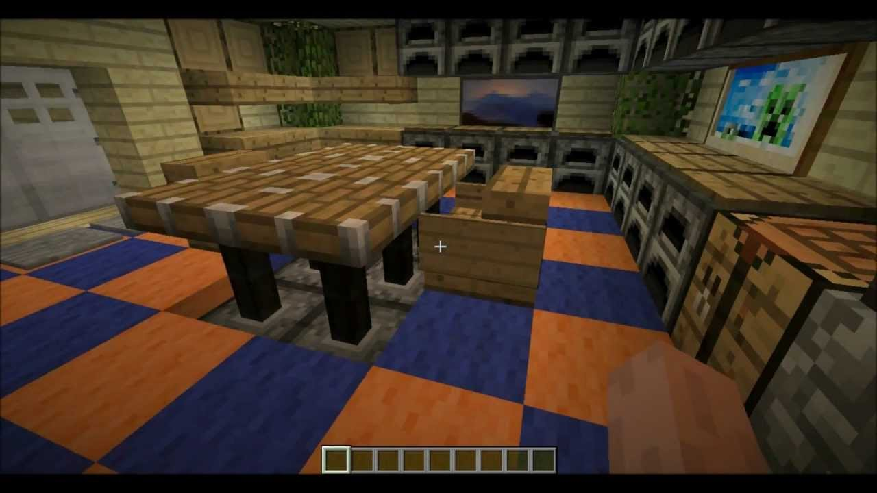 Great Kitchen Designs/Ideas In Minecraft! |Minecraft Designs| (1.3.2)    YouTube Part 34
