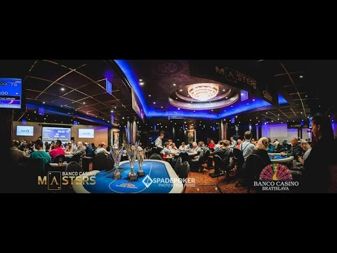🇸🇰 Banco Casino Masters XI Bratislava, Final Table 100,000€ GTD