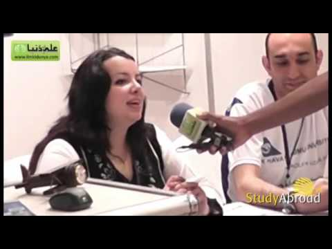 Interview of Turkish Aeronautical Association at International Education Expo