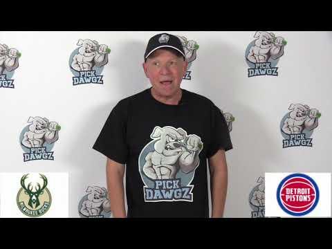 Milwaukee Bucks vs Detroit Pistons 12/4/19 Free NBA Pick and Prediction NBA Betting Tips