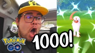 What happens if you *WIN 1000 RAIDS* in Pokémon GO?!