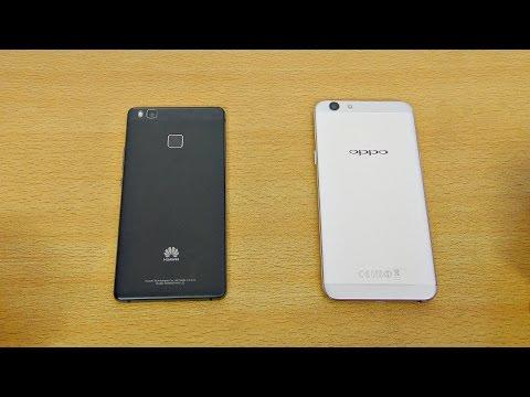 Oppo F1S vs Huawei P9 Lite