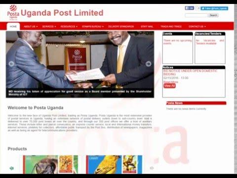Uganda Post Tracking Guide