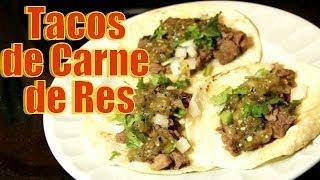 Tacos de Carne de Res - Receta - Recetas en Casayfamiliatv