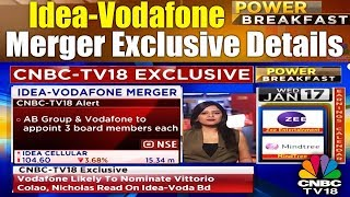 Idea-Vodafone Merger | What The Board Could Look Like? | Power Breakfast | CNBC TV18