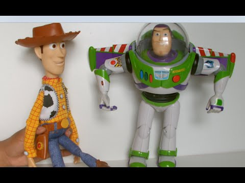 Toy Story Interactive Friends Woody & Buzz Lightyear [HD]