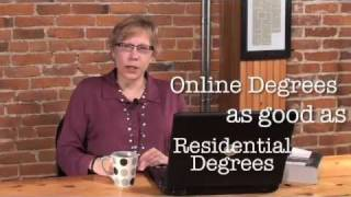 Is An Online Degree Credible in Your Employer's Eyes?