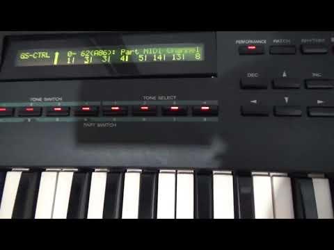 ROLAND JV90 METAIS