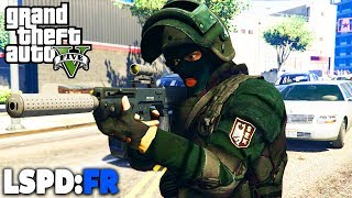 GTA 5 LSPD:FR - SEK / SWAT Eskorte für VIP - Deutsch - Polizei Mod #53 Grand Theft Auto V