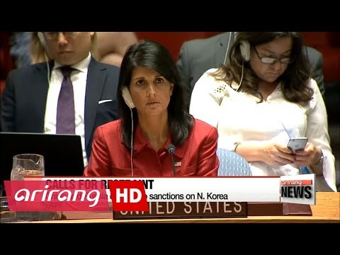 U.S. and China, Russia at odds over new UN sanctions on N. Korea