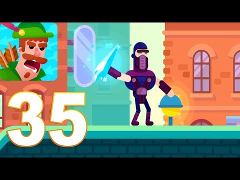 Bowmasters - Frost Gameplay Walkthrough Part 35 (iOs, android)