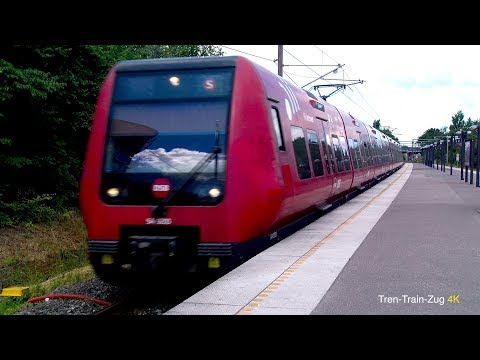 DSB Trains. 4K