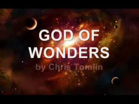 God of Wonders - Chris Tomlin (with lyrics)