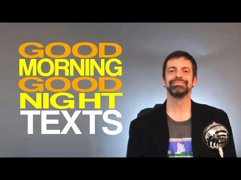 good morning texts dating