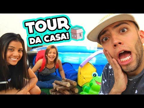 TOUR PELA CASA! #ACasaDosFlop