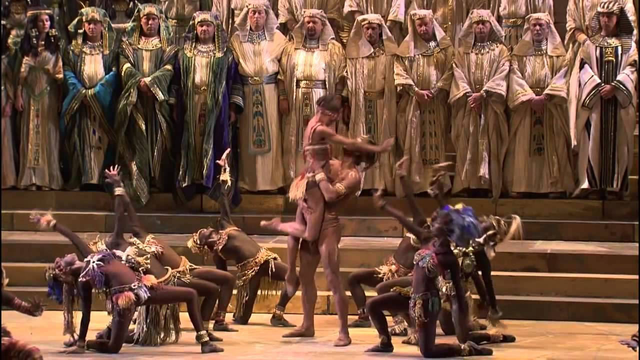 Download Verdi Opera Aida - Gloria all' Egitto, Triumphal March - HD