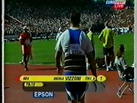 Hammer Throw IAAF World Champs 2001 Edmonton Canada