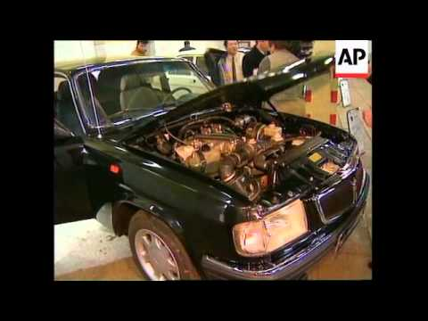 RUSSIA: AUTOMAKER GAZ UNVEILS NEW MODELS OF ITS VOLGA CARS