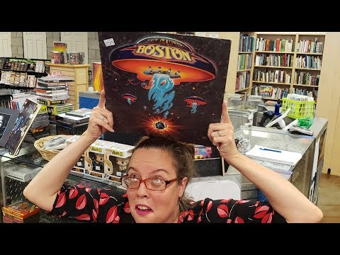 Vinyl Records - Classic Rock With Boston Fun Facts