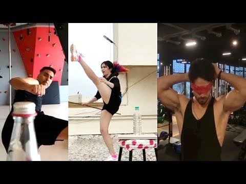 Bottle Cap Challenge | Akshay Kumar ,Tiger Shroff , Many Others Give It a Hilarious Twist Mp3