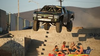 Monster Energy: Ballistic BJ Baldwin Recoil 2 - Unleashed in Ensenada, Mexico(What better place than the city streets of Ensenada Mexico, the home of the Baja 1000, to set the stage for the sequel to Ballistic BJ Baldwin's viral hit Recoil., 2014-09-17T06:54:51.000Z)
