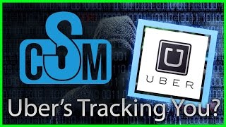 Was Uber Tracking Users After App Deletion? (Cyber Security Minute)