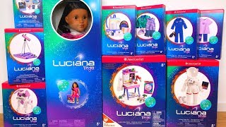 Video American Girl Luciana Vega Collection GOTY Unboxing & Review download MP3, 3GP, MP4, WEBM, AVI, FLV Januari 2018