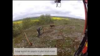 Réalisation d'une clôture à mouton