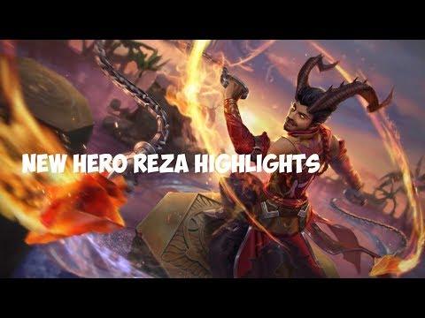 Vainglory Highlights: NEW HERO REZA HIGHLIGHTS (Vainglory Downtime Stream Gameplay) - Update 2.7