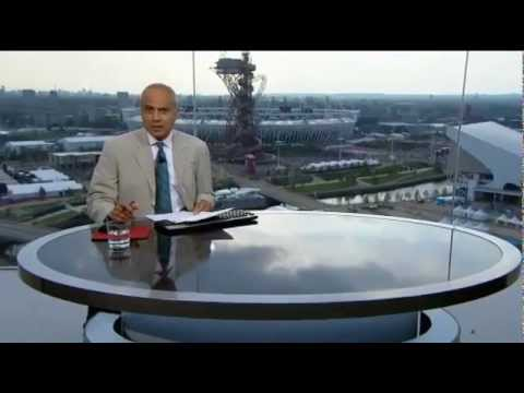 London 2012 BBC News at Six Olympic Theme Opening - (25/07/12)
