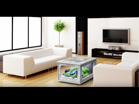 aquarium table basse aquatlantis jardinerie truffaut tv youtube. Black Bedroom Furniture Sets. Home Design Ideas