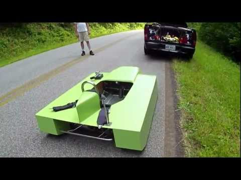 how to build a gravity powered car