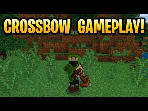 Minecraft New Crossbow Weapon Secrets & Enchantments! 1 8/ 1 14 PE, Xbox &  Windows 10