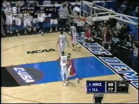 2005 Regional Final - Arizona vs. Illinois 3/26/05 (entire comeback)