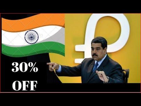 PETRO DOLLAR  -WILL INDIA ACCEPT Venezuela offer  30% discount with PETRO DOLLAR ??